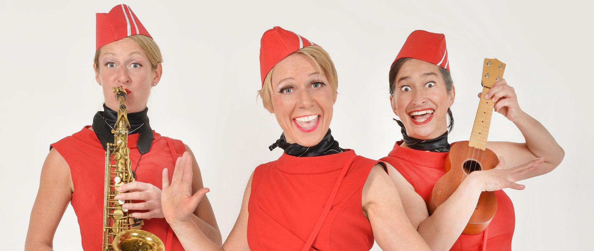 Die Comedy-Stewardessen